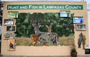 Sixth Lampasas Mural Unveiled