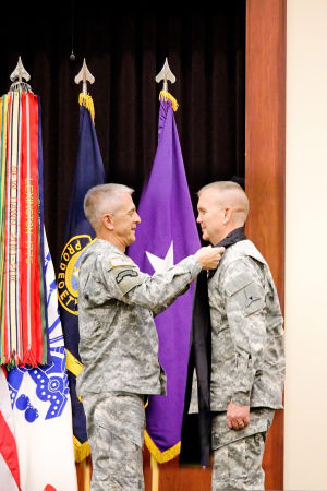Fort Hood thanks Goff, welcomes Whitlock