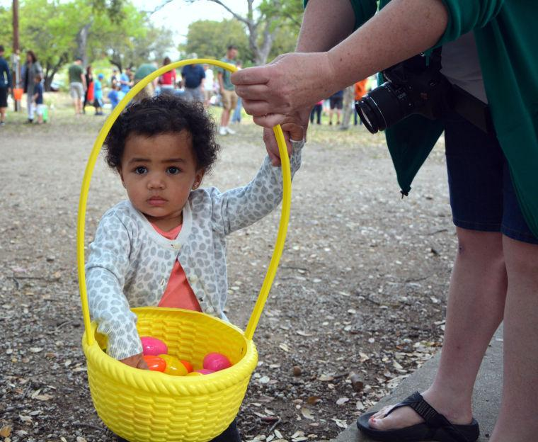 Cove Easter egg hunt