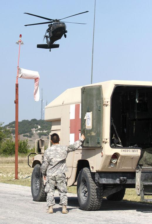 Fort Hood Mass Casualty Exercise