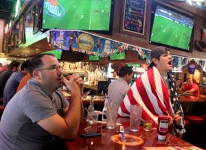 World Cup Soccer Watching