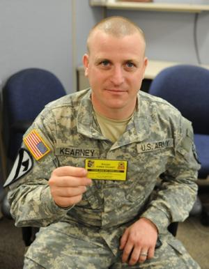 Soldier shares struggle with depression