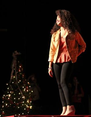 On the catwalk: Ellison High students walk runway for charity fundraiser