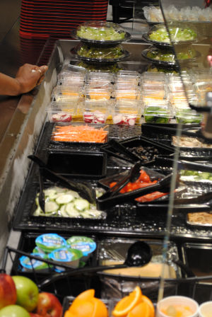 HHHS gets salad bar
