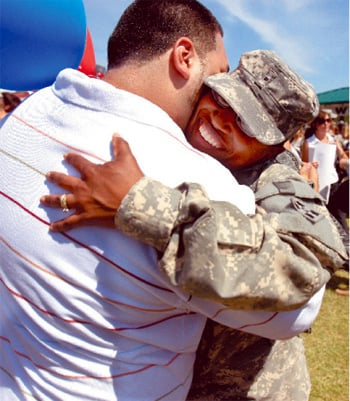 More than 300 soldiers back at Fort Hood after deployment to Iraq