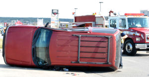 Heights car crash