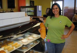 Banker-turned-baker opens bakery