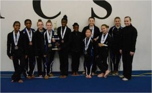 Local gymnasts excel at nationals