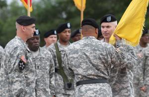 479th Field Artillery Brigade change of command