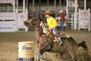 Killeen Barrel Racer Shelbie Parrish