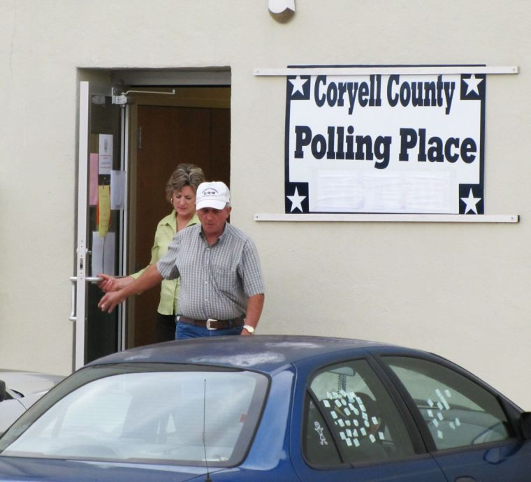 Coryell County voting