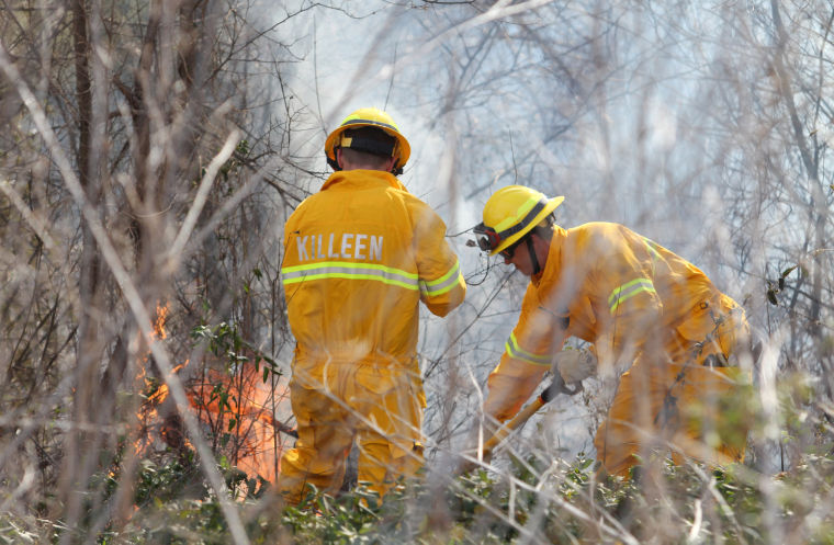 Killeen Grass Fire