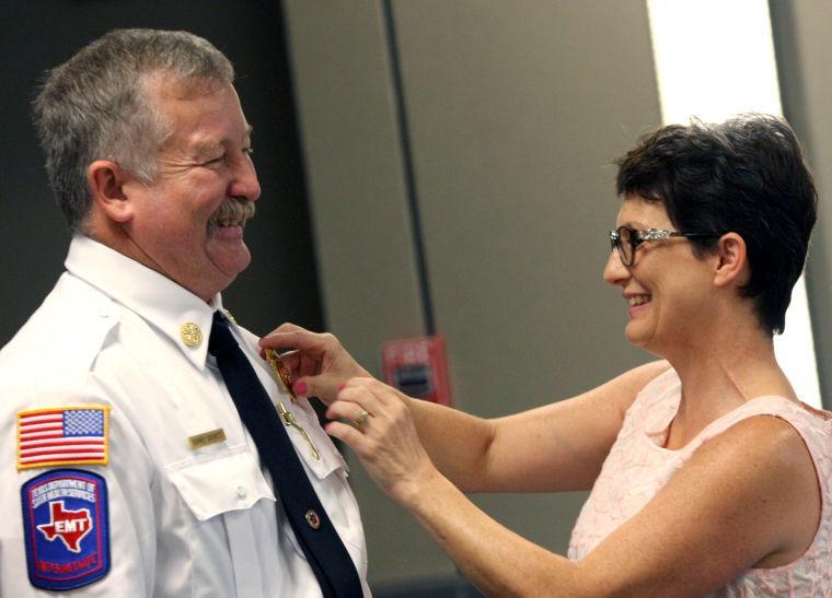 New Cove fire chief sworn in