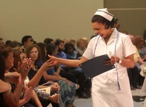 Central Texas College nursing pinning ceremony