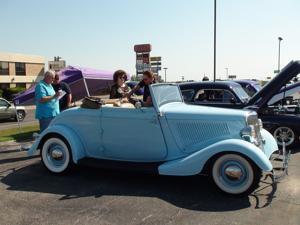 Car show fundraiser