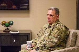 Army chief of staff visit
