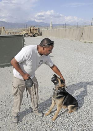 Canines, handlers keep FOB Gamberi safe