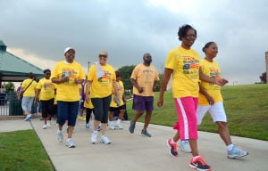 Locals walk in battle against diabetes