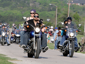 First-time ride raises nearly $30,000 for child abuse prevention