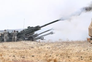 Steel Squadron Tests Howitzer