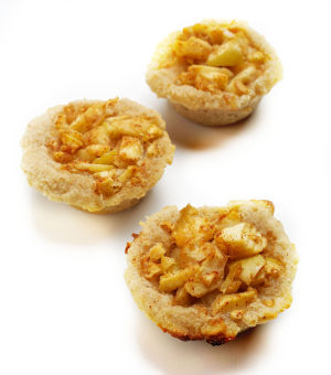 Apple pie bites