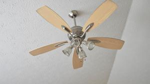 Wobbly ceiling fan? Check the mounting bracket