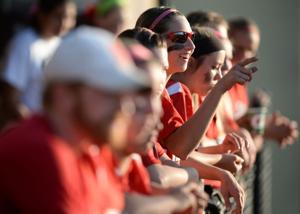 Salado vs. Woodville softball