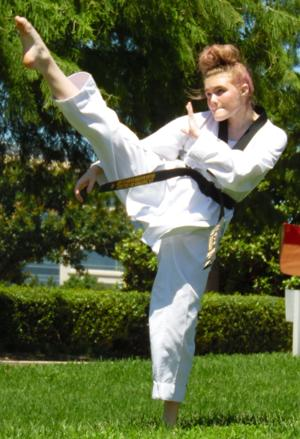 <p>Maddie Luster, 14, has won 37 gold medals in taekwondo since her first competition in 2012. This week she will compete in Portland, Ore.</p>