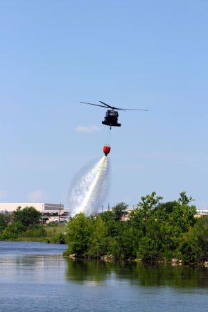 1st Air Cav trains to fight local, national wildfires
