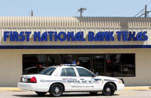 Man robs Killeen bank