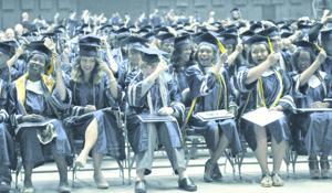 Shoemaker HS graduation 2014