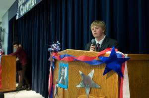 Shoemaker students hold mock presidential debate