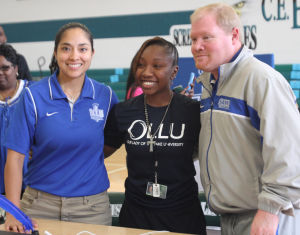 Ellison Girl's Basketball Signing