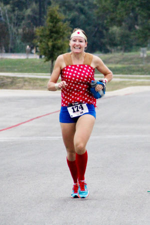 Monster Dash: Wonder Woman, Virginia Sanders, took
