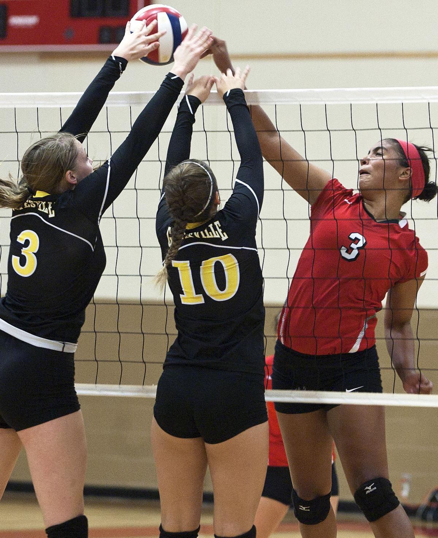 Belton vs. Gatesville Volleyball