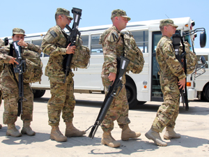 1st Air Cavalry soldiers depart for Afghanistan
