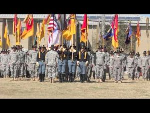 1st Cavalry Division Change Command Ceremony