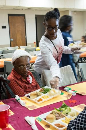 Killeen Community Center Meal
