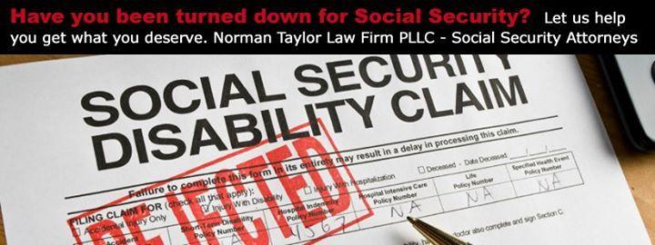 Have you been turned down for Social Security?