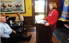 Exchange Club hears Metroplex campaign report