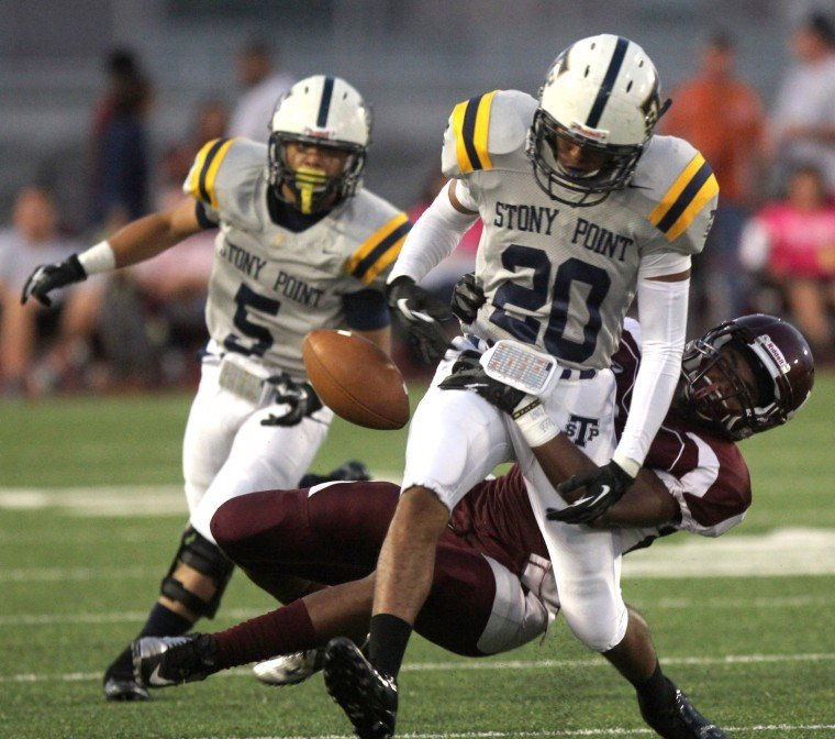 YEAR in PHOTOS - Killeen vs. Stony Point Football