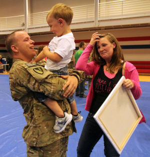 Fort Hood Homecoming for the 937th Clearance Company