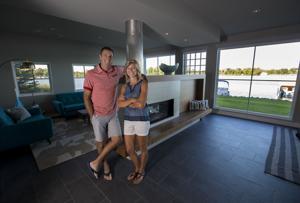 Minnesota lake home has simple Scandinavian style