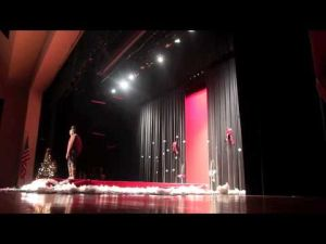 Ellison High School Holiday Fashion Show