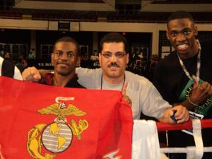 Marine wins spot in Olympic boxing