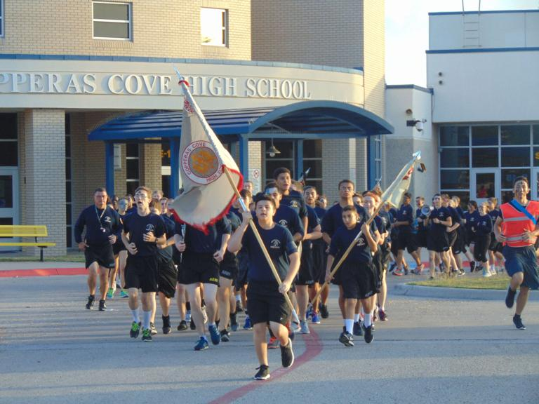 High school JROTC cadets battle for victory