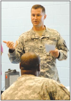 3rd Brigade Combat Team leader attends village meeting