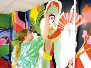 Killeen High art, theater students depict the history of the theater