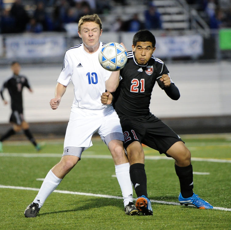 Lampasas vs. Waco Boys Soccer Playoffs
