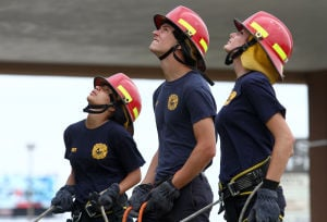 KISD Firefighter Students